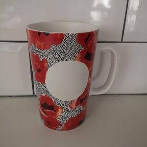 Starbucks 2015 dit series red poppy flowers
